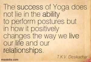 yoga relationships