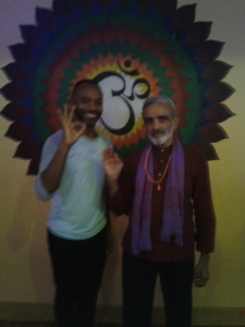 With Sri Dharma Mittra!