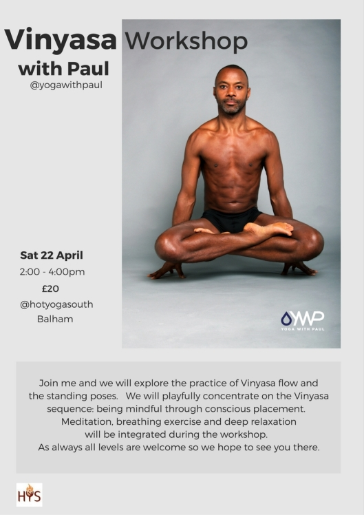 vinyasa workshop april